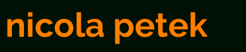 nicolapetek.com Logo